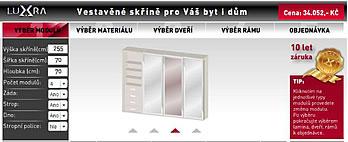 3D Konfigurátor skříní